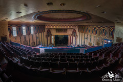 Royalty Cinema, England (ObsidianUrbex) Tags: urbex urban exploration abandoned derelict decay europe england art deco cinema theatre royalty auditorium