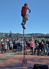 Tall Unicycle (Scott 97006) Tags: man unicycle audience performance show talent balance