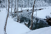 Hüttschlag 2018 (::ErWin) Tags: see salzburg österreich at hüttschlag wasser spiegelung reflection river water snow winter schnee