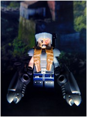 Cable (LegoKlyph) Tags: lego custom marvel brick block mini figure comic book deadpool xmen cyclops metal arm
