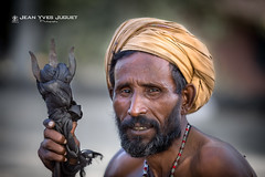 Sâdhu à Haridwar (Inde) - Sadhu in Haridwar (India) ( Jean-Yves JUGUET ) Tags: sadhu inde india haridwar sâdhu face