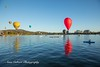 Canberra Balloon Festival, 2018 (Anna Calvert Photography) Tags: australia canberra lakeburleygriffin nationallibrary adventure balloonfestival ballooning balloons canberraballoonfestival landscape landscapephotography morninglight outdoors scenery sunrise telstratower transportation water