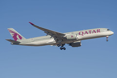 Qatar Airways   A350-900   A7-ALJ (Anthony Kernich Photo) Tags: a7alj airbus a350xwb airbusa350 widebody a350 airplane aircraft airplanepicture airplanephotograph airplanephoto commercialaviation plane aviation jet olympusem10 olympus olympusomd planespotting planespot aeroplane flight flying airline airliner raw air oneworld adelaide adelaideairport ypad taxi terminal qatar airways