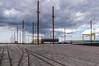 Poles and rails (Giloustrat) Tags: belfast dock rail poles titanic pentax k3 ireland northen