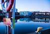 Reflection (Maria Eklind) Tags: beijerskajen dock winter nature reflection spegling sweden outdoor water architecture malmö ice skånelän sverige se