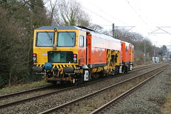 Colas Rail DR73923 @ Alsager (uksean13) Tags: dr73923 trackmachine alsager colas canon 760d ef28135mmf3556isusm train railway