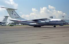 RA-76812 - Moscow Domodedovo (DME) 16.08.2001 (Jakob_DK) Tags: il76 il76td ilyushin ilyushinil76 il76candid ilyushin76 ilyushin76td ilyushinil76td cargo uudd dme domodedovo moscowdomodedovo domodedovointernationalairport moscowdomodedovoairport moskovskiiaeroportdomodedovo ase airstars aerostars aviakompanyaerostars 2001 ra76812