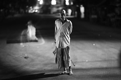 I Will Eat You Bangladesh (N A Y E E M) Tags: man retard vagabond homeless candid latenight lastnight street kazirdewri roundabout light availablelight atmosphere bokeh chittagong bangladesh carwindow