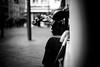 Violin and crutch (Black&Light Streetphotographie) Tags: monochrome mono menschen menschenbilder leute people personen portrait urban wow trier tiefenschärfe dof deepoffield fullframe vollformat city closeup musician musiker musik music sony streetshots streets streetshooting schwarzweis streetportrait street sw streetphotographie sonya7rii blackandwhite blackwhite bw bokeh bokehlicious