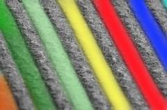 Colors (giannizigante) Tags: colori righe obliquo grigio