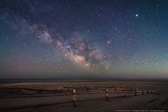 Milky Way on Whale Beach (mhoffman1) Tags: atlanticcoast eastcoast milkyway sonyalpha southjersey strathmere whalebeach a7riii astrophotography beach galacticcenter shore stars laowa12mm