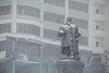 Stepan Ossipovitch Makarov - Степа́н О́сипович Мака́ров (dataichi) Tags: владивосток vladivostok russia travel tourism destination siberia winter cold snowing statue makarov мака́ров propaganda soviet