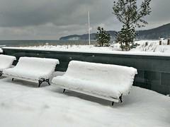 Winter am Binzer Strand (lt_paris) Tags: urlaubinbinz2018 binz rügen strandpromenade strand ostsee meer winter schnee