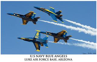 BLUE ANGELS FOUR SHIP