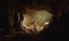 Prehistoric woman (olgavareli) Tags: olga vareli prehistoric woman cave alone light
