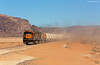 Aqaba Railway Corporation 301 + 310 Wadi Rum (OliverHeckmann) Tags: jordanien jordan arc 301 310 general electric ge u20c phosphatzug wadi rum phosphatetrain aqaba railway corporation