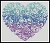Heart Cross Stitch (websitedesigningplus) Tags: heart cross stitch