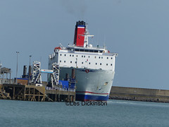 Stena Europe at Goodwick, P1140225 (LesD's pics) Tags: stenaeurope boat ship goodwick