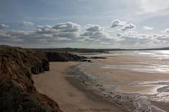 Godrevy Beach * ({House} Photography) Tags: cornwall travel photography canon 70d timothyhouse housephotography godrevy beach sea seaside water sky clouds