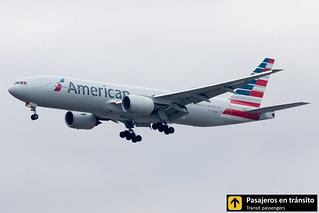 Boeing B777 American Airlines N772AN