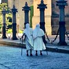 Snapshot in Salamanca (winterade) Tags: viadelaplata kathedrale nonnen nun morning