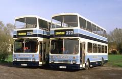 E925 CDS - E938 CDS (markkirk85) Tags: bus buses e925cds ex e161ygb leyland lion alexander rh marshalls sutton trent new clydeside scottish 121987 161 e938cds e163ygb 163 e925 cds e161 ygb e938 e163