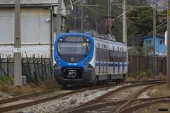 XT-30 | Barón (Felipe Radrigán) Tags: tren ferrocarril train railroad railway automotor xm xm30 xtrapolis valparaiso viñadelmar limache baron maestranza chile efe merval