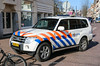 Dutch mounted police Mitsubishi Pajero (Dutch emergency photos) Tags: politie police politi policie polisie polis polisia policia polizei polisi nederland nederlands nederlandse netherlands dutch emergency vehicle car 4x4 voertuig auto 999 911 112 mistubishi pajero amsterdam capital hoofdstad bereden beredenpolitie mounted mountedpolice section paard paarden horse horses blue light blauw licht whelen lightbar 36htj5