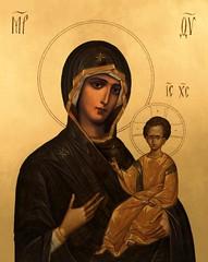 Theotokos Icon (CatholicArtist) Tags: theotokos virgin mary our lady mother god icon iconography nostra signora notre dame icona jerusalem panagia byzantine