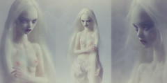 Karin (dolls of milena) Tags: bjd abjd resin doll art marmite sue angel egg butterfly portrait