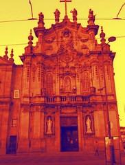 (sftrajan) Tags: baroque church edited igreja portugal cameraphone toolwiz igrejadocarmo port baroquearchitecture estilobarroco arquiteturabarroca 18thcentury barrocoportugués sigloxviii barroco rococo iglesia architecture