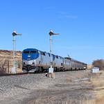 Amtrak 3, Wagon Mound, New Mexico thumbnail