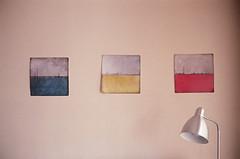 b a minimalist wall (Ian Allaway) Tags: indoors art 35mm bessar3m agfavista200 analogue film photography