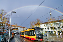 You can't have a rainbow without the rain... (.: mike | MKvip Beauty :.) Tags: lgg6 lgh870 lg rearcamera1 71° wideangle handheld availablelight naturallight street cityscape rainbow spring karlsruhe germany europe mth mkvip