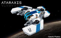 Ataraxis (tardisblue) Tags: lego space moc spaceship ataraxis