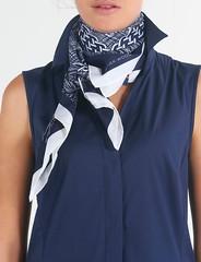 River Woods n°252 (Blouse et Foulard 2) Tags: blouse foulard river woods silk scarf dress