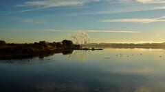 Limfjorden (mikael_on_flickr) Tags: limfjorden aalborg nordjylland danmark denmark danimarca morning morgen mattina fjord fiordo inlet reflection riflesso blu blue blau bleu blå