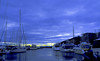 Aker Brygge, Oslo (evakongshavn) Tags: akerbrygge blue bluetiful bluehour sunset sunsets water ocean sea yacht yachts boat boats reflections reflection oslo norge norway
