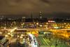 Old Days (Jens Haggren) Tags: stockholm slussen city lights buildings cars people sky sweden jenshaggren
