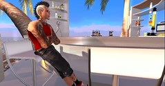 Ocean Side (rebeloutkast) Tags: secondlife tattoo avatar