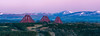 Three Mounds (jasty78) Tags: forthrailbridge forthbridges bluehour sunset bridge lothians pentlandhills fife scotland nikond7200 tamron150600mm 250mm