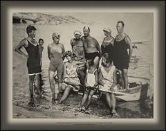 6342 MuzCroOpatTourisCzech The Croatian Museum of Tourism Opatija Croatia Opatija Czech tourists on the Baška beach (Morton1905) Tags: 6342 muzcroopattourisczech the croatian museum tourism opatija croatia czech tourists baška beach