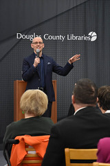 An Evening with Brad Meltzer (DCLcolorado) Tags: brad meltzer douglascountylibraries highlands ranch library colorado author signing
