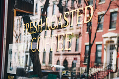 Porto Rico Importing Co. (samanthahestad) Tags: new york city winter coffee beans