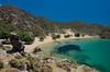 Psili Ammos beach, Patmos, Greece (RomanK.) Tags: greece beach greek patmos psiliammos ellada ellas