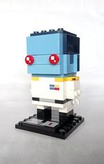 Grand Admiral Thrawn (instructions available) (tomvanhaelen) Tags: lego star wars custom brickheadz moc grand admiral thrawn empire