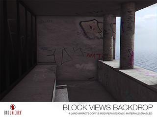 NEW! Block Views Backdrop