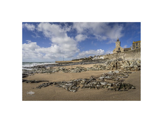 Approach to Porthleven
