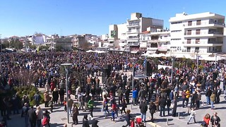 Rally in Orestiada for Soldiers