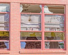 Broken (augphoto) Tags: augphotoimagery abandoned architecture brick building exterior school structure promisedland southcarolina unitedstates
